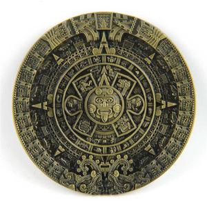 Maya Design ~ Brass ~ Belt Buckle